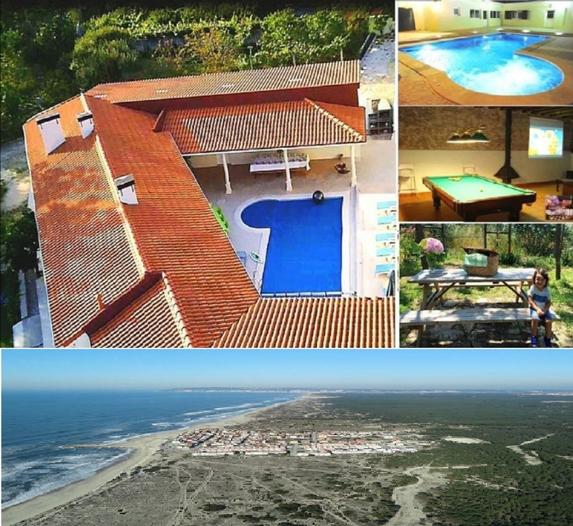 Villa with Chef: htd Pool, Jacuzzi, Cinema, BBQ; cellar - close to the beaches