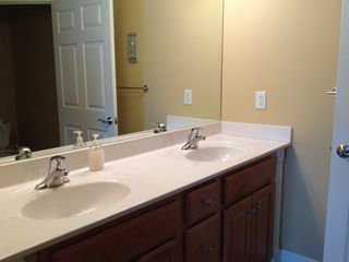 Oceans Mist Ocean City condo photo - This private bath is attached to bedroom two. Includes a large shower