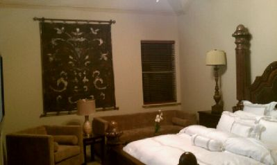 "Jr. Suite for comfort and relaxation with seating area and 46"" flat ..."