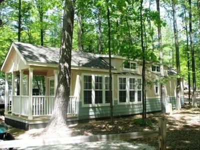Traverse City cottage rental - Outside Picture of Park Home
