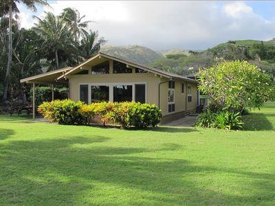 Enjoy the large yard, a beach gazebo, a sheltered lanai and a comfortable home.