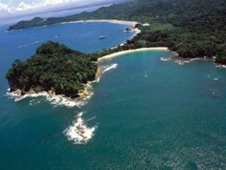 Manuel Antonio villa photo - view of Manuel antonio park and beaches (4 mins from villa)