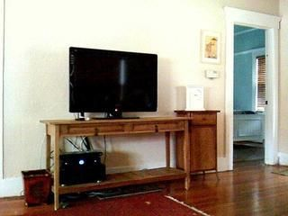 46' TV with DVD player, cable TV