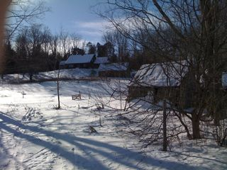 St Johnsbury house photo - Winter View Across Field