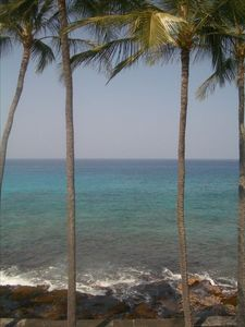 Kailua Kona condo rental - This is the view from your open sliders!