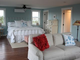 Truro house photo - Owners Suite with King bed and room a/c