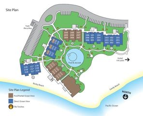 Kahuku - Turtle Bay condo photo - Site Map of Ocean Villas Turtle Bay