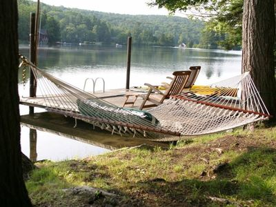 Wilmington house rental - Rest by the lake while the kids are out in the five boats