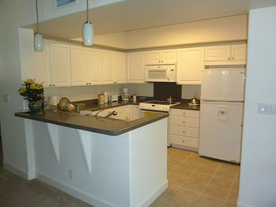 Ko Olina condo rental - Kitchen fully stocked with cookware and dishware