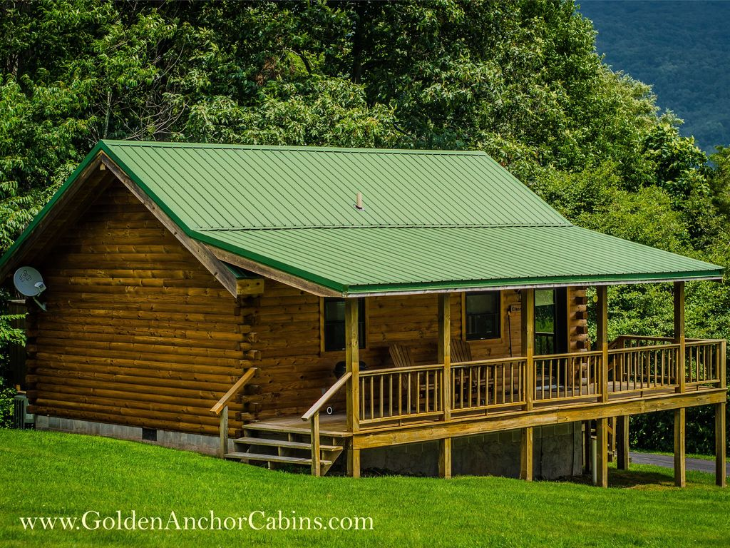 Romantic log cabin for two w hot tub homeaway Log cabin for two