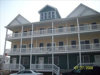 Captains View Villas townhome photo - 2 Blocks from the boardwalk and Atlantic Ocean