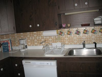 South Yarmouth house rental - Dishwasher and garbage disposal.