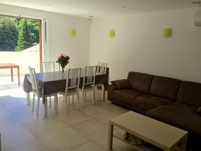 Home comfort and quiet village, near Corte, river, celebrations, beach 45 minutes.
