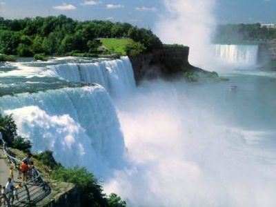 "Welcome to ""Niagara Falls"", One of the Seven Natural Wonders of the World!"