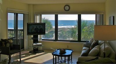 Amelia Island condo rental - Enjoy the ocean view from nearly every room of this oceanfront condo.