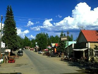 Houston cabin photo - This is Talkeetna Alaska my favorite place to visit and dine just 1 hour away.