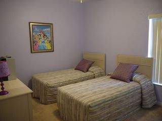 Champions Gate villa photo - Twin Bedroom 4 - showing alternative bedding supplied