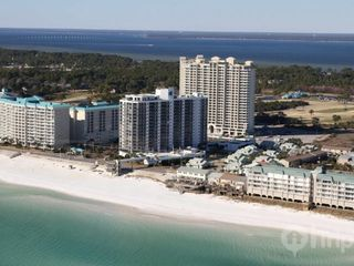 Surfside Resort condo photo - Helicopter view of beach and resort