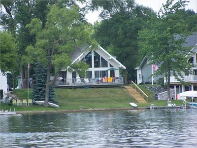 Cottage on beautiful Clifford Lake