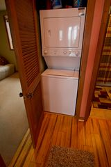 Beech Mountain condo photo - washer/dryer