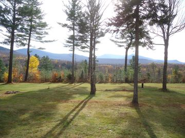 Porch view of Sugarloaf, Mount Hale, North & South Twin Mountains