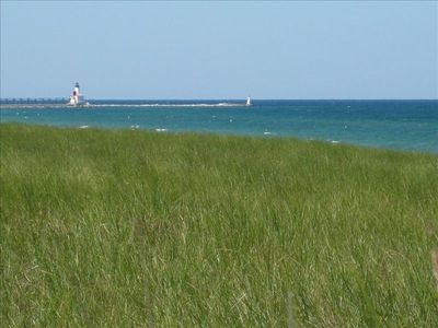 View of Michigan City Lighthouse