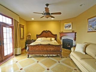 Master Bedroom 4 with fireplace - Newry house vacation rental photo