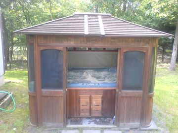 Gazebo Hot Tub