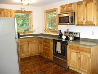 Lake Placid house photo - Open kitchen with lots of counter space