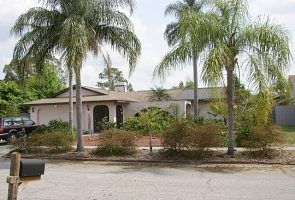 Sarasota villa rental - Front of House