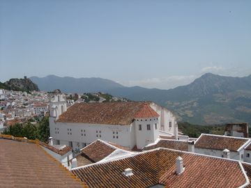 View of town from terrace