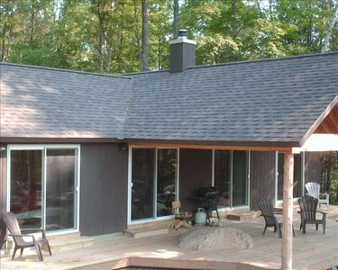 Lake Placid chalet rental - Spacious Front Porch