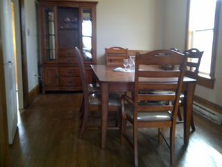 Mahone Bay house photo - formal dinning right off the kitchen