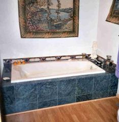 Antonito cabin photo - Across the River Retreat: Master Suite Bath