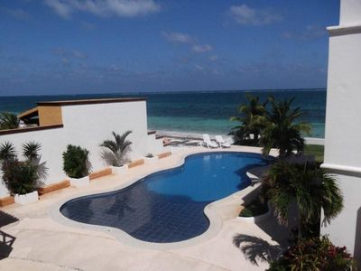 Puerto Morelos condo rental - View from the kitchen