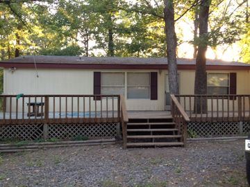 Greers Ferry Lake mobile home rental - Front of home