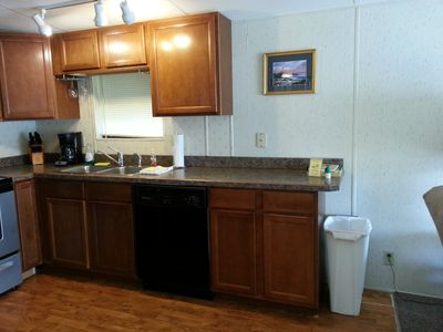 Homosassa cabin rental - Kitchen