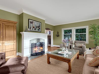 Enjoy visiting with family and friends in our generously sized living room...