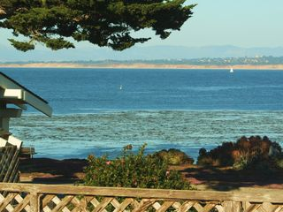 Pacific Grove house photo - Taken from the deck that runs the full length of the house, all facing the ocean