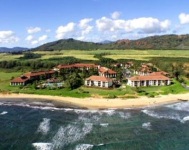 Kauai Beach Resort is secluded, set apart from any other development.