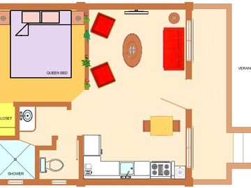 Orchid Cottage Floorplan