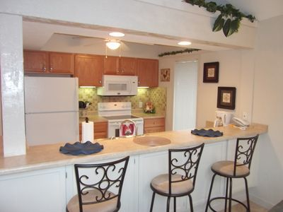Newly remodeled kitchen with new appliances