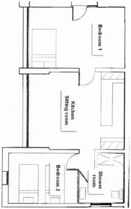 Sorede villa rental - Plan for Apartment Riviere