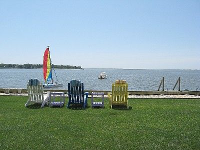 Hampton Bays apartment rental - Directly on Open Bay
