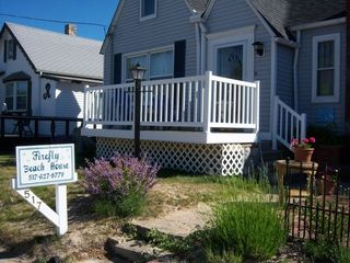 Manistee house photo - Our new front porch perfect for sunsets and relaxi