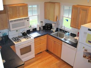 Oak Bluffs house photo - the modern and fully-equipped kitchen, there's an abutting pantry room
