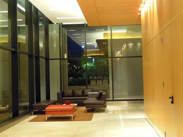 Lobby of the building