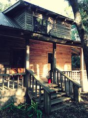 Apalachicola cabin photo - front of the house.