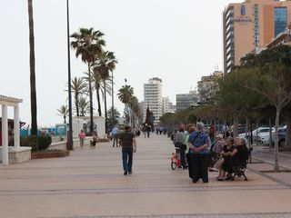 Fuengirola apartment photo - Paseo Maritimo - 8 Km flat walk - join the locals.