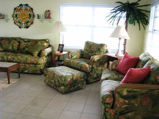 Little Gasparilla Island cottage photo - Relaxing Island decor!